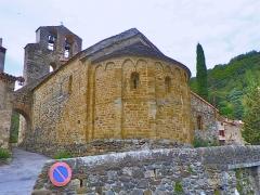 Eglise Saint-Saturnin - Català: Absis de Sant Sadurní de Bula d'Amunt, al Rosselló