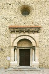 Eglise Sainte-Marie - English: Portal of Parish Church Sainte-Marie, Le Boulou, France