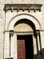 Eglise Sainte-Marie - Català: Portal de l'església de Santa Maria, al Voló (Rosselló)