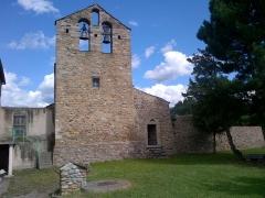 Eglise Saint-Romain de Caldegas - Català:   Sant Romà de Càldegues (la Guingueta d\'Ix)
