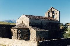 Eglise Saint-Romain de Caldegas - Français:   France - Cerdagne - Église Saint-Romain de Caldegas