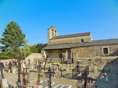 Eglise Saint-Romain de Caldegas - Català:   Església i cementiri de Sant Romà de Càldegues (Alta Cerdanya)