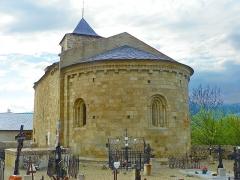 Eglise Saint-Martin de Hix - Català: Església de Sant Martí d'Ix (Alta Cerdanya)