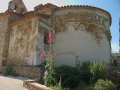 Eglise paroissiale Saint-Pierre et Saint-Félix - Abside de l'église paroissiale Saint-Félix, Calmeilles (Pyrénées-Orientales, Languedoc-Roussillon, France)
