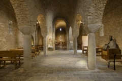 Abbaye de Saint-Martin du Canigou - This building is indexed in the Base Mérimée, a database of architectural heritage maintained by the French Ministry of Culture,under the reference PA00103981 .