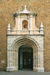 Eglise Saint-Pierre - Deutsch: Portal der Pfarrkirche Saint-Pierre, Céret, Frankreich
