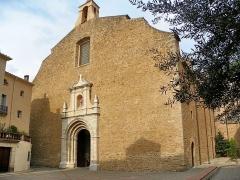 Eglise Saint-Pierre - Català: Església barroca de Sant Pere de Ceret (Vallespir)