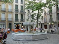 Fontaine publique des Nou Raigts - Català: Font dels Nou Raigs (Ceret)