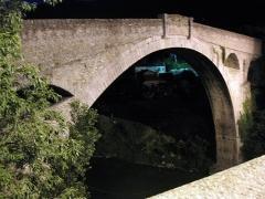 Pont sur le Tech - Català: Pont del Diable (Ceret)