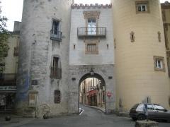 Ancien portal de France - English: City Gates of Céret