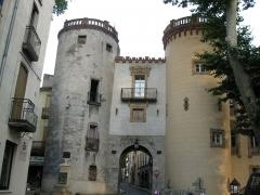 Ancien portal de France - Català: Porta de França (Ceret)