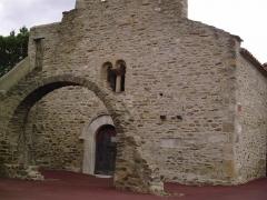 Eglise Sainte-Marie de l'Ecluse-Haute -  façade de l'église