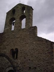Eglise Sainte-Marie de l'Ecluse-Haute -  clocher de l'église