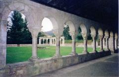 Ancienne abbaye de Saint-Michel de Cuxa ou Cuixà - Català: Claustre del monestir de Cuixà (Conflent)