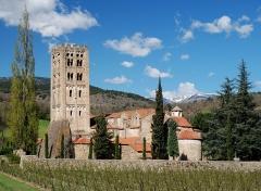 Ancienne abbaye de Saint-Michel de Cuxa ou Cuixà - Català: Abadia de Sant Miquel de Cuixà, a Codalet (Conflent)