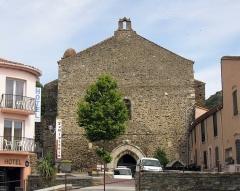 Ancienne église et ancien couvent des Dominicains - Català: Antiga església i convent de Sant Domènec (Cotlliure)