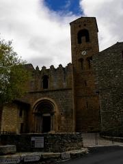 Eglise Sainte-Marie - Français:   Église Sainte-Marie de Corneilla-de-Conflent (66). Façade occidentale.