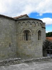 Eglise Sainte-Marie - Français:   Église Sainte-Marie de Corneilla-de-Conflent (66). Chevet.