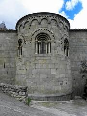 Eglise Sainte-Marie - Français:   Église Sainte-Marie de Corneilla-de-Conflent (66). Abside.