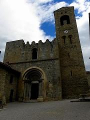 Eglise Sainte-Marie - Français:   Église Sainte-Marie de Corneilla-de-Conflent (66). Façde occidentale.