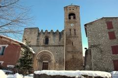 Eglise Sainte-Marie - Català: Santa Maria de Cornellà de Conflent - Façana principal