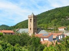 Eglise Sainte-Marie - Català: Costoja (Vallespir) i el campanar de Santa Maria