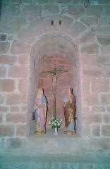 Eglise Sainte-Marie - Oratoire de la Crucifixion, Eglise Notre-Dame de l'Aubépine, Coustouges (Pyrénées-Orientales, Languedoc-Roussillon, France)