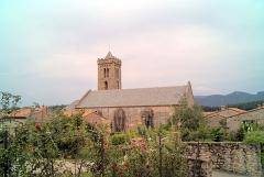 Eglise Sainte-Marie - Eglise Notre-Dame de l'Aubépine, Coustouges (Pyrénées-Orientales, Languedoc-Roussillon, France)