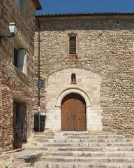 Eglise Sainte-Eulalie (ancienne cathédrale) - Deutsch: Elne, Frankreich: Cathédrale Sainte-Eulalie-et-Sainte-Julie, Seitenportal (SO)