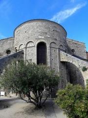 Eglise Sainte-Eulalie (ancienne cathédrale) - Français:   Cathédrale Sainte-Eulalie et Sainte-Julie d\'Elne (66). Abside.