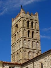 Eglise Sainte-Eulalie (ancienne cathédrale) - Français:   Cathédrale Sainte-Eulalie et Sainte-Julie d\'Elne (66). Clocher sud.