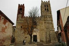 Eglise Sainte-Eulalie (ancienne cathédrale) - Català: Catedral d'Elna - Façana