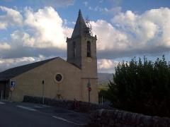 Eglise Saint-Saturnin - Català: Església de Sant Sadurní d'Enveig, Alta Cerdanya, Catalunya Nord
