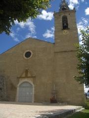 Eglise Saint-Saturnin - Català: Sant Sadurní d'Enveig (Alta Cerdanya)