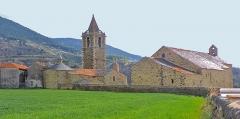 Eglise paroissiale Saint-Génis - Català: Les dues esglésies d'Er (Alta Cerdanya)