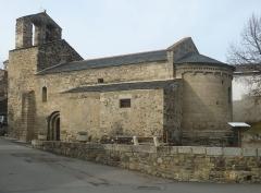 Eglise Saint-Julien - Français:   Vue d\'ensemble de l\'église Saint-Julien d\'Estavar