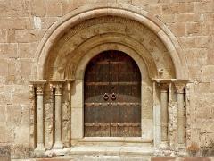 Eglise Saint-Fructueux - Català: Portalada de Sant Fructuós de Llo
