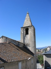 Eglise Saint-Martin d'Odeillo - English: Church of Odeillo, France.