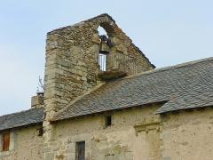 Eglise de Via - Català: Campanar de l'església de Vià (Alta Cerdanya)