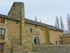 Eglise de Via - Català: Església de Santa Coloma de Vià (Alta Cerdanya)