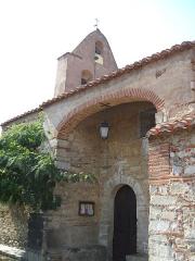 Eglise paroissiale Sainte-Eugénie - Català: Església parroquial de Santa Eugènia d'Ortafà