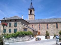 Eglise paroissiale Saint-Pierre - Català: Sant Pere d'Oceja