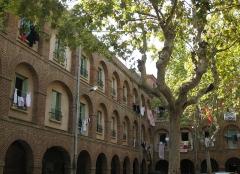 Caserne Saint-Jacques - Català: Caserna de Sant Jaume (Perpinyà), pati interior