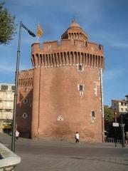 Castillet, Grand-Castillet, porte Notre-Dame ou Petit-Castillet - Castillet de Perpignan