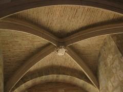 Castillet, Grand-Castillet, porte Notre-Dame ou Petit-Castillet - Català: El Castellet de Perpinyà, volta a l'entrada del Gran Castellet