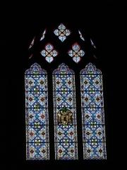 Cathédrale Saint-Jean-Baptiste - Català: Catedral de Perpinyà, vitrall