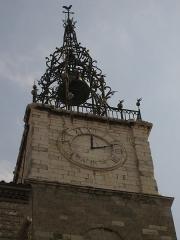 Cathédrale Saint-Jean-Baptiste - Català: Catedral de Perpinyà, torre del rellotge, a la dreta de la façana