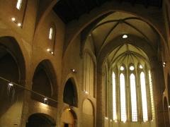 Ancien couvent des Frères Prêcheurs - Català: Església de Sant Domènec (Perpinyà), nau gòtica de l'església del convent