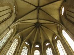 Ancien couvent des Frères Prêcheurs - Català: Església de Sant Domènec (Perpinyà), voltes i vitralls de l'absis