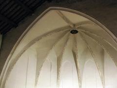 Ancien couvent des Minimes - Català: Convent dels Mínims (Perpinyà), volta de l'absis de l'església amb decoracions policromes